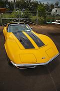 Corvette Stingray at Wings and Wheels at Oregon Aviation Historical Society.