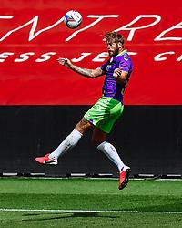 Nathan Baker of Bristol City in action - Rogan/JMP - 21/08/2020 - Ashton Gate Stadium - Bristol, England - Bristol City v Cheltenham Town - Pre Season Friendly.