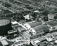 1927 Aerial view of United Artist Studios