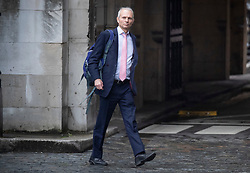 © Licensed to London News Pictures. 26/09/2019. London, UK. Conservative MP David Lidington walks at Parliament in Westminster . The Supreme Court has ruled that Parliament had been suspended illegally. British Prime Minster Boris Johnson prorogued parliament just weeks before the UK is due to leave the EU on October 31st. Photo credit: Peter Macdiarmid/LNP