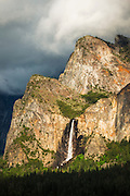 Bridalveil Fall, Yosemite National Park, California USA