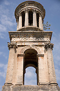 Mausoleum the dome in St. Remy du Provence Roman 30 BC