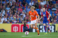 Blackpool's Brad Potts in action<br /> <br /> Photographer Craig Mercer/CameraSport<br /> <br /> The EFL Cup Second Round - Crystal Palace v Blackpool - Tuesday 23 August 2016 - Selhurst Park - London<br />  <br /> World Copyright © 2016 CameraSport. All rights reserved. 43 Linden Ave. Countesthorpe. Leicester. England. LE8 5PG - Tel: +44 (0) 116 277 4147 - admin@camerasport.com - www.camerasport.com