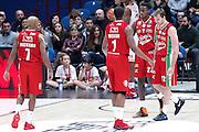 Team Olimpia Milano, EA7 Emporio Armani Milano vs Consultinvest Pesaro, LBA serie A 14^ giornata stagione 2016/2017, Mediolanum Forum Milano 2 gennaio 2017
