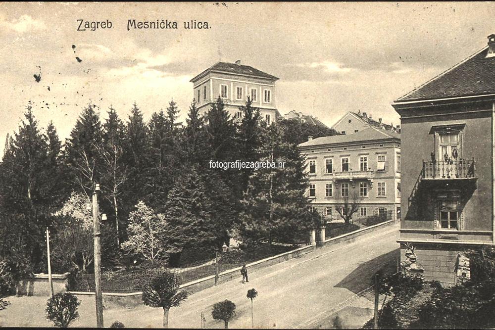 Zagreb : Mesnička ulica. <br /> <br /> ImpresumZagreb : Naklada papirnice A. Brusina, 1907.<br /> Materijalni opis1 razglednica : tisak ; 8,6 x 13,7 cm.<br /> SuradnikMosinger, Franjo<br /> NakladnikTiskara A. Brusina<br /> Mjesto izdavanjaZagreb<br /> Vrstavizualna građa<br /> ZbirkaGrafička zbirka NSK • Zbirka razglednica<br /> Formatimage/jpeg<br /> PredmetZagreb –– Mesnička ulica<br /> SignaturaRZG-MESN-11<br /> Obuhvat(vremenski)20. stoljeće<br /> NapomenaRazglednica je putovala 1908. godine.<br /> PravaJavno dobro<br /> Identifikatori000954897<br /> NBN.HRNBN: urn:nbn:hr:238:642409 <br /> <br /> Izvor: Digitalne zbirke Nacionalne i sveučilišne knjižnice u Zagrebu