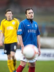 Cowdenbeath's Jamie Stevenson..Cowdenbeath 4 v 1 Falkirk, 9/2/2013..©Michael Schofield.
