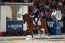 Jurado Lopez Severo Jesus, ESP, Quel Filou<br /> Longines FEI/WBFSH World Breeding Dressage Championships for Young Horses - Ermelo 2017<br /> © Hippo Foto - Dirk Caremans<br /> 06/08/2017