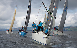 Largs Regatta Week 2017 <br /> <br /> Day 1<br /> <br /> GBR9470R, Banshee, Charlie Frize, CCC, Corby 33.<br /> <br /> Picture Marc Turner