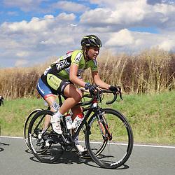 19-07-2016: Wielrennen: Thueringen Rundfahrt vrouwen: Greiz<br /> GREIZ (DLD) WIELRENNEN      <br /> Sophie de Boer op de Dortendorferberg