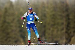 Elisa Gasparin (SUI) during Women 15km Individual at day 5 of IBU Biathlon World Cup 2018/19 Pokljuka, on December 6, 2018 in Rudno polje, Pokljuka, Pokljuka, Slovenia. Photo by Ziga Zupan / Sportida