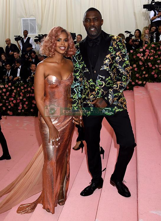 Idris Elba and Sabrina Elba attending the Metropolitan Museum of Art Costume Institute Benefit Gala 2019 in New York, USA.