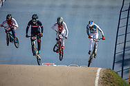 at Round 9 of the 2019 UCI BMX Supercross World Cup in Santiago del Estero, Argentina