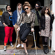 Milan, Italy, May 18, 2012. Friends, musical band from Brooklyn for Rolling Stone Magazine.