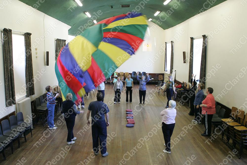 Members of  Ennis Pals for Life program  held in Ennis Community Centre.<br />Pic.Brian Gavin/Press 22
