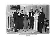 John F. Kennedy attends a dinner in his honour at Áras an Uachtaráin.<br /> <br /> 26/06/1963<br /> <br /> 26th June 1963