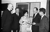 1964 - Opening of Coras Trachtala Japanese Design Exhibition at Municipal Art Gallery, Dublin