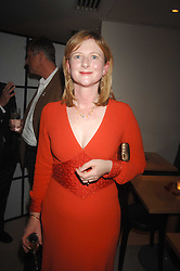 FRANCES OSBORNE at a dinner in aid of Eve Appeal, Gynaecology Cancer research Fund held at Nobu, The Metropolitan Hotel, Park Lane, London on 3rd September 2007.<br /><br />NON EXCLUSIVE - WORLD RIGHTS