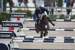 Bettinger Marc, (GER), Bacardi<br /> Zangersheide Sires of the World<br /> World Championship Young Jumping Horses - Lanaken 2015<br /> © Hippo Foto - Dirk Caremans<br /> 19/09/15