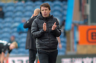 Barnsley Manager Daniel Stendel during the The FA Cup 3rd round match between Burnley and Barnsley at Turf Moor, Burnley, England on 5 January 2019.