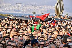 November 10, 2018 - °Zmir, Türkiye - Turkish people attends a respect walk For Mustafa Kemal Ataturk, founder of Turkey in the morning in Izmir, Turkey, Nov. 10, 2018. Millions join ceremonies in Turkey to commemorate Ataturk, the founder of modern Turkey,  in his 80th death anniversary. (Credit Image: © Depo Photos via ZUMA Wire)