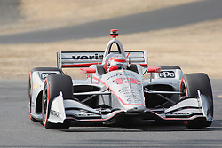 September 14, 2018 - Sonoma, CA, U.S. - SONOMA, CA - SEPTEMBER 14: Will Power is seen during the Verizon IndyCar Series practice for the Grand Prix of Sonoma on September 14, 2018, at Sonoma Raceway in Sonoma, CA. (Photo by Larry Placido/Icon Sportswire) (Credit Image: © Larry Placido/Icon SMI via ZUMA Press)
