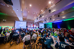 Closing ceremony at Day 4 of 16th Slovenia Open - Thermana Lasko 2019 Table Tennis for the Disabled, on May 11, 2019, in Thermana Lasko, Lasko, Slovenia. Photo by Vid Ponikvar / Sportida