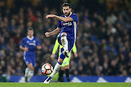 Cesc Fabregas of Chelsea in action. The Emirates FA cup, 3rd round match, Chelsea v Peterborough Utd at Stamford Bridge in London on Sunday 8th January 2017.<br /> pic by John Patrick Fletcher, Andrew Orchard sports photography.