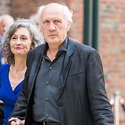 NLD/Middelburg/20180516 -Four Freedom Awards 2018, herman van Veen en partner Gaetane Bouchez