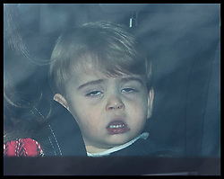 December 18, 2019, London, London, United Kingdom: Image licensed to i-Images Picture Agency. 18/12/2019. London, United Kingdom. Prince Louis arriving at The Queen's Christmas Party at Buckingham Palace in London  (Credit Image: © Stephen Lock/i-Images via ZUMA Press)