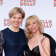 NLD/Rotterdam/20200308 - Hello Dolly premiere , Claudia de Breij en partner Jessica van Geel