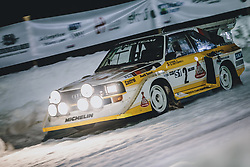 01.02.2020, Flugplatz, Zell am See, AUT, GP Ice Race, im Bild Audi Sport Quattro S1 // Audi Sport Quattro S1 during the GP Ice Race at the Airfield, Zell am See, Austria on 2020/02/01. EXPA Pictures © 2020, PhotoCredit: EXPA/ JFK