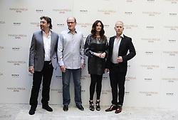 Sep 16, 2010 - Rome, Italy - RICHARD JENKINS, actress JULIA ROBERTS, actor JAVIER BARDEM, RYAN MURPHY  poses for the ''Eat Pray Love'' Rome's photo call. (Credit Image: © Evandro Inetti/ZUMApress.com)