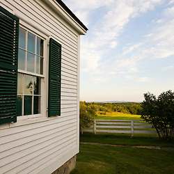 A scene at the Canterbury Shaker Village in Canterbury, New Hampshire.