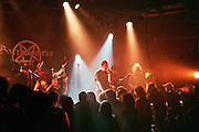 Israel, Tel Aviv, Bartholomeus band during a Heavy Metal rock performance