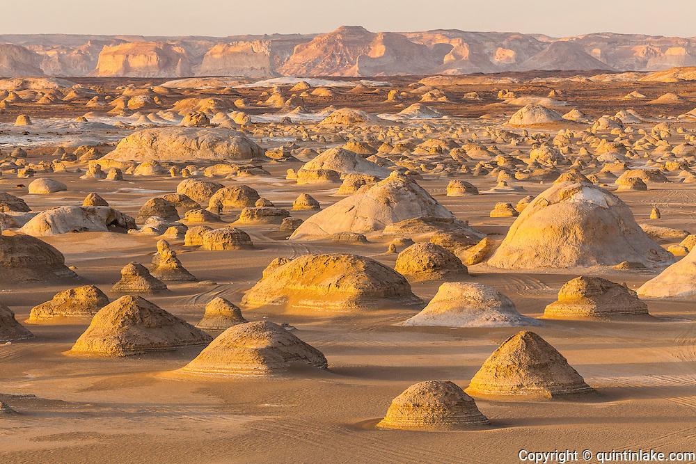 "Moments before sunset at El-Khiyam ""The Tents"",  Sahara Beida (White Desert), Egypt"