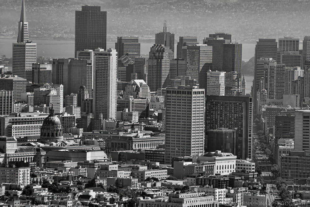 Downtown San Francisco from Twin Peaks