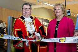 Opening of Lidl store in Uxbridge. Uxbridge, February 28 2019.