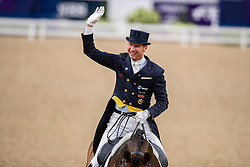 Kittel Patrick, SWE, Delaunay OLD<br /> LONGINES FEI World Cup™ Finals Gothenburg 2019<br /> © Dirk Caremans<br /> 05/04/2019