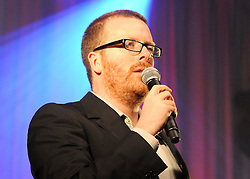 ©  London News Pictures. London, UK. FILE PICTURE DATED 17/07/09. Scottish Comedian Frankie Boyle performing live. The Daily Mail newspaper has reported that Frankie Boyle made significant tax savings by using tax loopholes. The paper claims that Boyle could have .avoided paying nearly £900,000 in tax  through the voluntary liquidation of his  firm last year. Photo credit: Stephen Simpson/LNP.