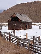 Log Barn, British Columbia, Canada