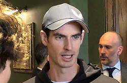 Andy Murray poses during the Castore partnership announcement at the Queen's Club, London. Picture date: Wednesday March 6, 2019. See PA story TENNIS Murray. Photo credit should read: Eleanor Brooks/PA Wire