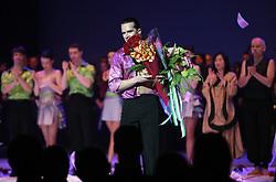"""Slovenian dancer Andrej Skufca at the """"goodbye"""" event Infinity is Eternity (Neskoncnost je vecnost), on March 2, 2008, in Cankarjev dom, Ljubljana, Slovenia.  (Photo by Vid Ponikvar / Sportal Images)/ Sportida)"""