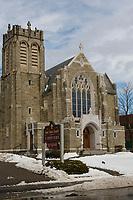 St. Joseph's Catholic Church in Laconia.  (Karen Bobotas/for the Laconia Daily Sun)