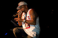 Singer-songwriter and record producer The-Dream, Terius Youngdell Nash, performs at S.O.B.'s in New York...Photo by Robert Caplin..