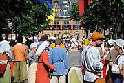Nederland, Nijmegen, 31-8-2008Middeleeuwse taferelen bij het gebroeders van Limburg festival in de stad.Foto: Flip Franssen/Hollandse Hoogte