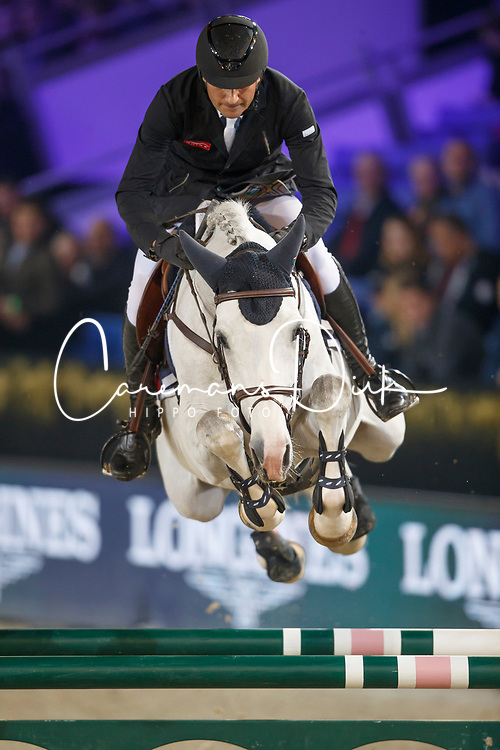 Bucci Piergiorgio, ITA, Casago<br /> Vlaanderens Kerstjumping<br /> Memorial Eric Wauters<br /> Jumping Mechelen 2017<br /> © Hippo Foto - Dirk Caremans<br /> 27/12/2017
