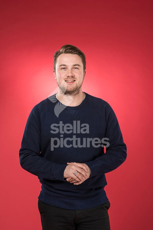 Welsh chef Tomos Parry pictured at Evening Standard Studio, London<br /> Picture by Daniel Hambury/Stella Pictures Ltd 07813022858<br /> 27/11/2017