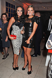 Left to right,  TAMARA ECCLESTONE and HOLLY VALANCE at a reception to celebrate the publication of Candy and Candy: The Art of Design held at the Halcyon Gallery, 24 Bruton Street, London W1 on 26th October 2011.