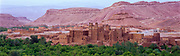 The ancient city Ait Benhaddou, Ouarzazate, Morocco, 1999