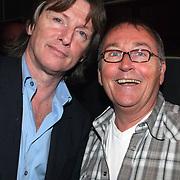 NLD/Amsterdam/20080407 - Launchparty platenmaatschappij 21st Century Music, Erik de Zwart en Pim van der Kolk
